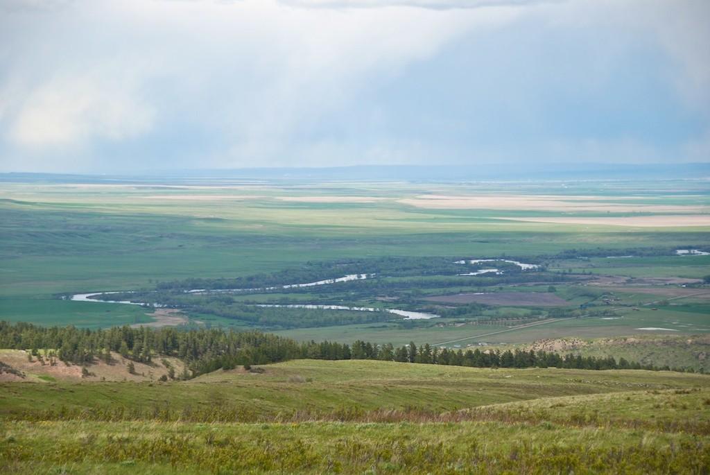 Bighorn Valley Scene