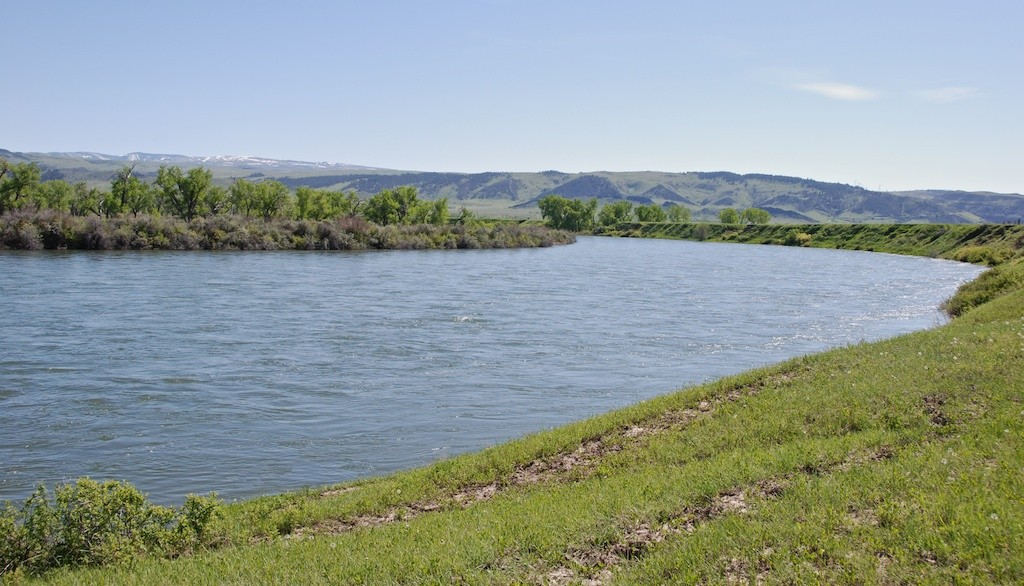 Bighorn River at 15,000