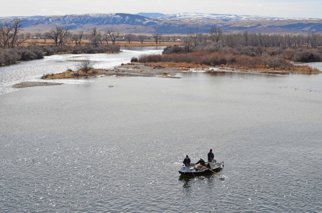 A Beautful day in March on the Bighorn River