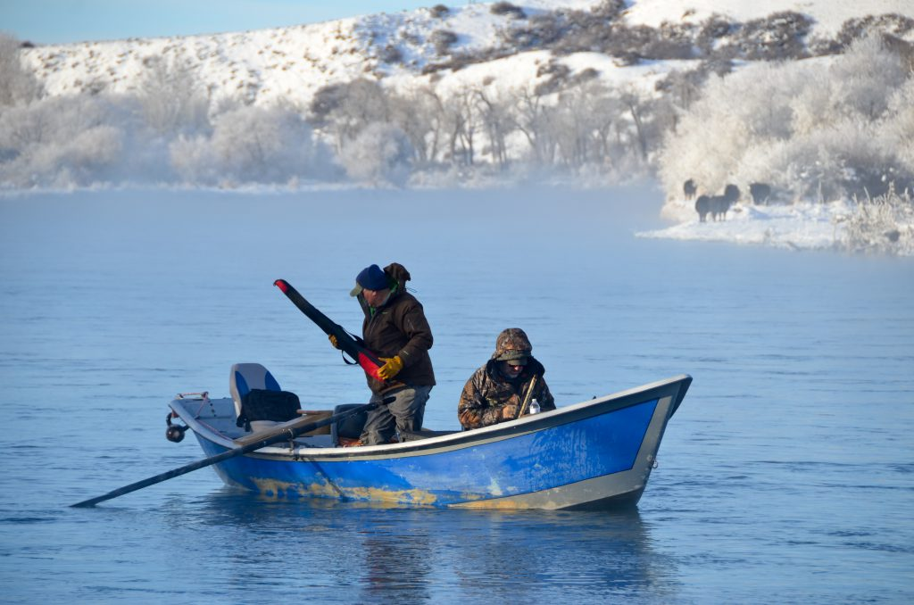 Winter Fishing On Cold-Water Fish